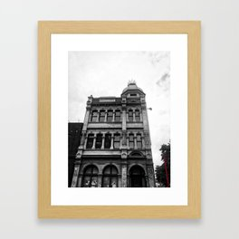 Old Wellington Building Framed Art Print