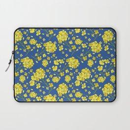 Floral Love of Mustard Laptop Sleeve