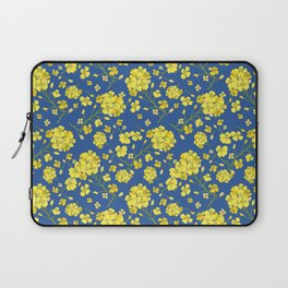 Floral Love of Mustard Laptop Sleeve