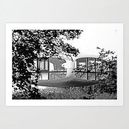 Weddingroom in Binz Art Print