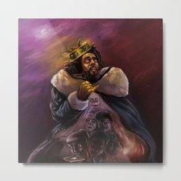 The King J Cole Metal Print