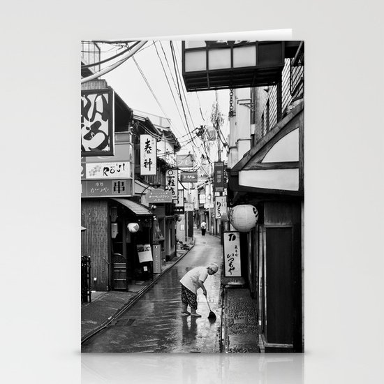 Pontocho in the Morning, Kyoto Stationery Cards