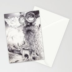 Skägg Stationery Cards