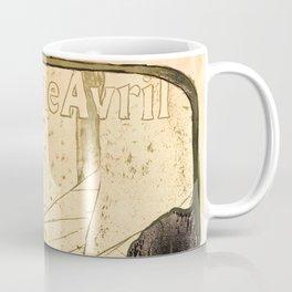 "Henri de Toulouse-Lautrec ""Jane Avril"" Coffee Mug"