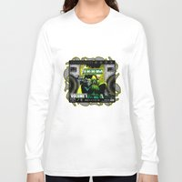 doom Long Sleeve T-shirts featuring DOOM by D.Armendariz