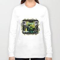 doom Long Sleeve T-shirts featuring DOOM by D.Armendariz