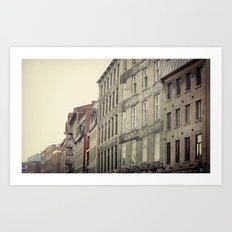 The Old Port: Montreal Art Print