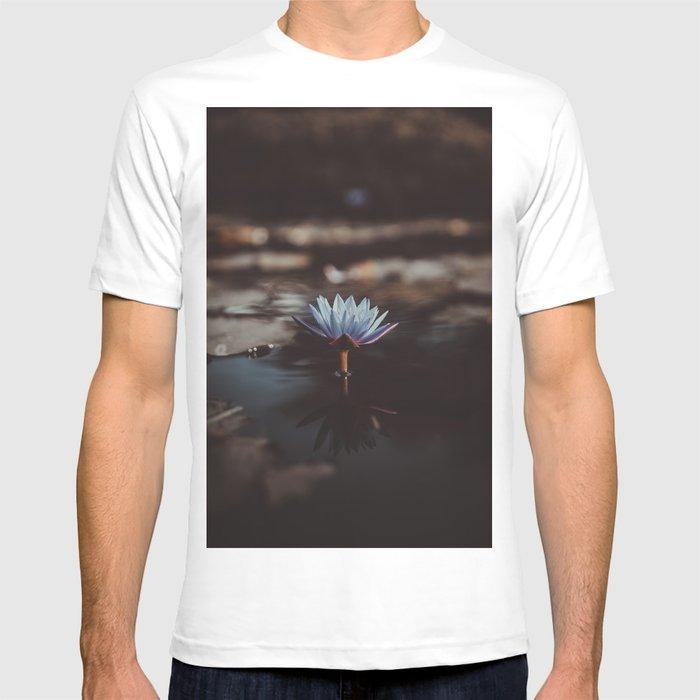 pastel blue T-shirt