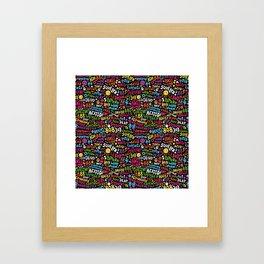 Acid! Framed Art Print