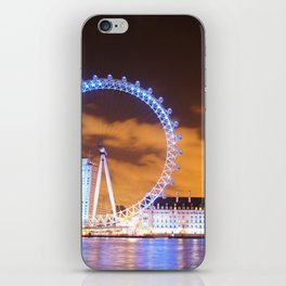 London Midnight Eye iPhone Skin