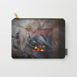 Painting with Smoke - The Eye of Wisdom Carry-All Pouch