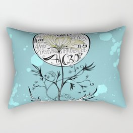 """Seed on Good Soul"" Rectangular Pillow"
