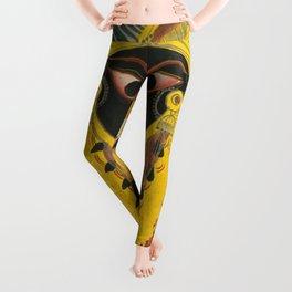 Kali Goddess Vintage Leggings
