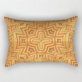 Fall Basket Pattern Rectangular Pillow