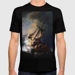 The Storm on the Sea of Galilee-Rembrandt T-shirt