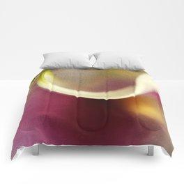 Calla Lily AbstractIII Comforters