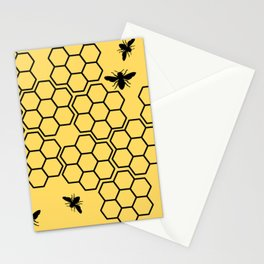 Trapped in the Comb Stationery Cards