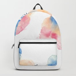 180807 Abstract Watercolour 3 | Colorful Abstract |Modern Watercolor Art Backpack