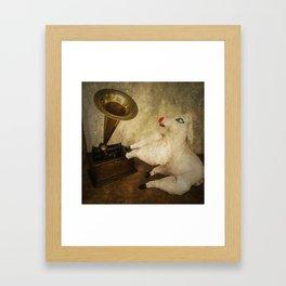 His Masters Sheep Framed Art Print