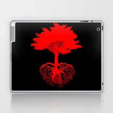 Heart Tree - Red Laptop & iPad Skin