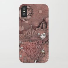 Strawberry Moon in June Slim Case iPhone X