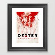 DEXTER Framed Art Print
