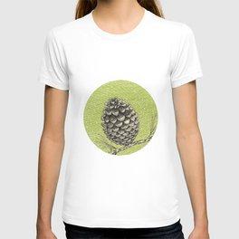 A pinecone T-shirt
