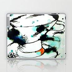 green & black,& a tea cup Laptop & iPad Skin