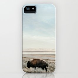 Bison of Antelope ISland iPhone Case