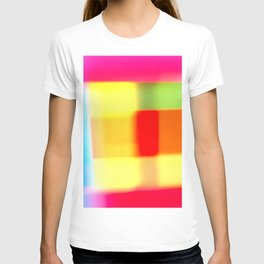 Colored blur background 7 T-shirt