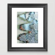 Nude on a Stair Framed Art Print