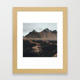 Höfn Framed Art Print