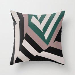 ASDIC/SONAR Dazzle Camouflage Graphic Design Throw Pillow