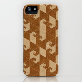 Fractal Wave C iPhone Case