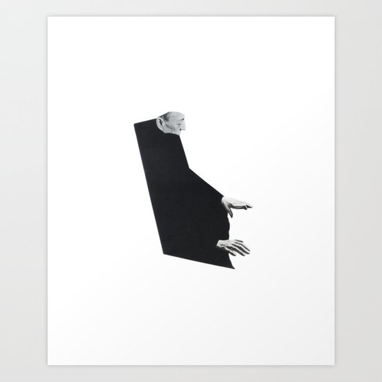 Figure Study - Him Art Print