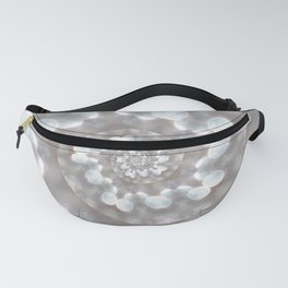 Down the Wormhole - Abstract Photographic Art by Fluid Nature Fanny Pack