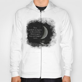 You, as much as anyone... Hoody