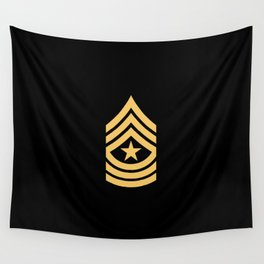 Sergeant Major (Gold) Wall Tapestry