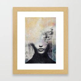 The concept of beauty... Framed Art Print