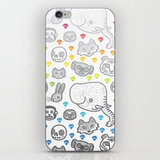 Hypno Animals iPhone Skin