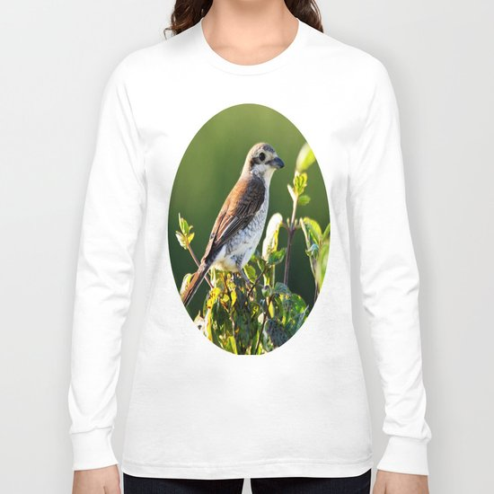 One Bird in the Bush (just one) Long Sleeve T-shirt