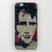 kerouac iPhone & iPod Skins featuring Jack Kerouac: Get On The Beat  by Emily Storvold