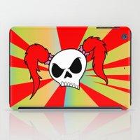 rock n roll iPad Cases featuring Rock-N-Roll Brat  by Los Espada Art