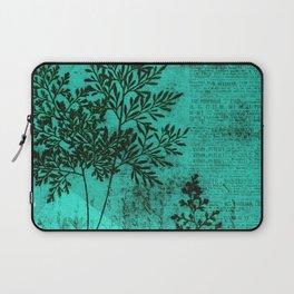 Botanical Turquoise Laptop Sleeve