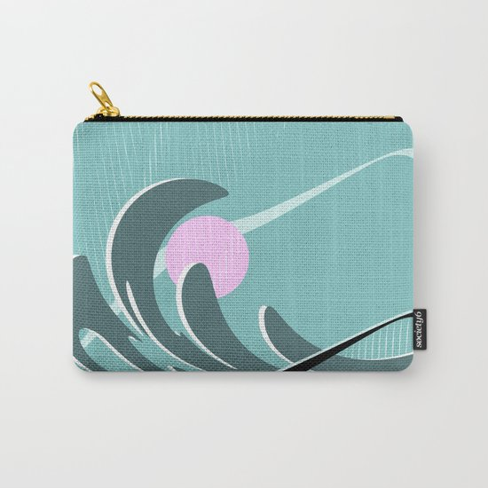 Abstract 2017 021 Carry-All Pouch