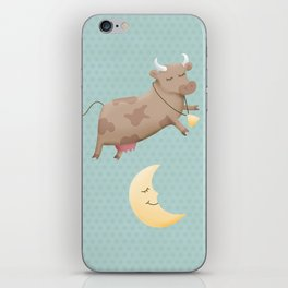 Hey diddle diddle iPhone Skin