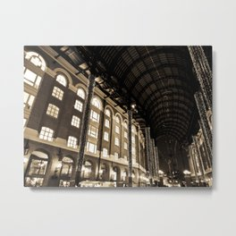 Hay's Galleria London Metal Print