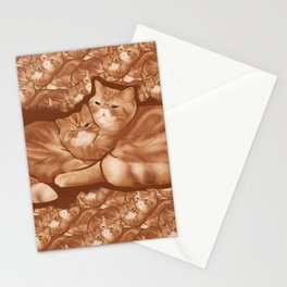 Seamus and Angus #thesnuggleisreal  Stationery Cards
