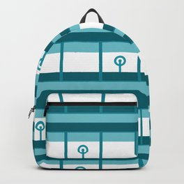 Graphical Circuitry Backpack