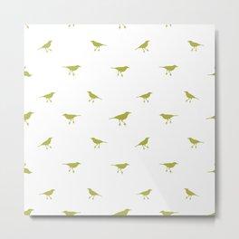 Birds Silhouette Print Metal Print
